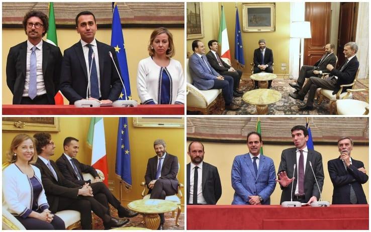 Renzi lancia legislatura costituente con M5s e Lega